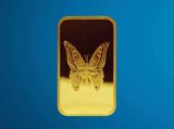Butterfly Minted Bar Design