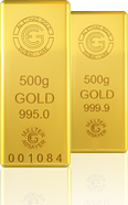 500 Gm Gold Bars